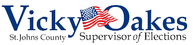 St Johns County Supervisor of Elections Logo